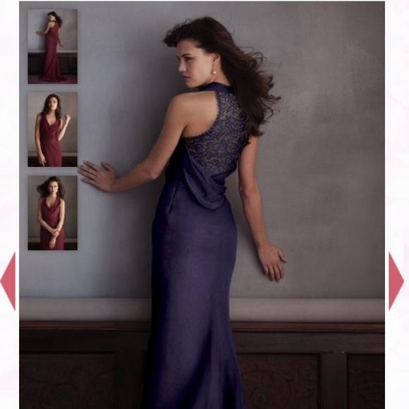 Mackenzie Michaels Dresses & Skirts - Mackenzie Michaels bridesmaid dress- night sky